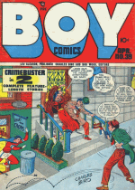 Cover For Boy Comics