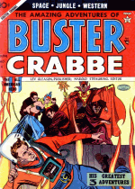 Cover For Amazing Adventures of Buster Crabbe