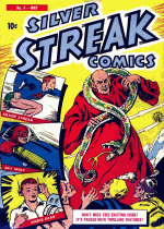 Cover For Silver Streak Comics