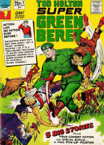 Cover For Super Green Beret