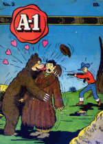 Cover For A-1 Comics
