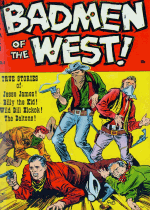 Cover For Badmen of the West