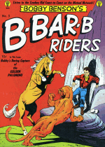 Cover For Bobby Benson B-Bar-B Riders