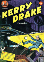 Cover For Kerry Drake Detective Cases