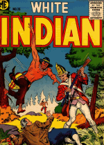 Cover For White Indian