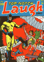 Cover For Top-Notch Laugh Comics