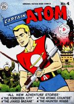 Cover For Captain Atom