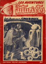 Cover For Les Aventures Futuristes