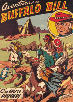Cover For Aventuras de Buffalo Bill