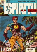 Cover For El Espiritu de la Selva