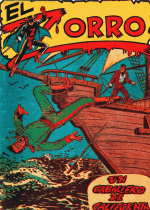 Cover For El Zorro