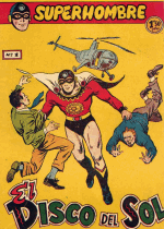 Cover For Superhombre