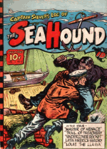 Cover For Captain Silver Syndicate - The Sea Hound