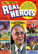Cover For Real Heroes