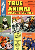 Cover For True Animal Picture Stories