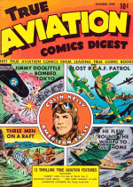 Cover For True Aviation Comics Digest