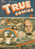 Cover For True Comics
