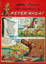 Cover For The Adventures of Peter Wheat