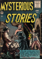 Cover For Mysterious Stories