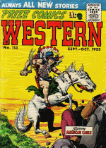 Thumbnail for Prize Comics Western