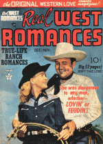 Cover For Real West Romances