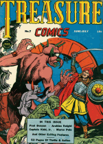 Cover For Treasure Comics