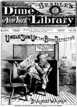 Cover For Beadle's Dime Library