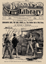 Cover For Beadle's Half Dime Library