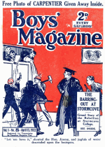 Cover For Boys' Magazine