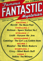 Cover For Famous Fantastic Mysteries