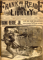 Cover For Frank Reade Library
