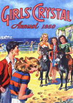 Cover For Girls' Crystal Annual