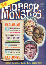 Cover For Horror Monsters
