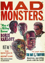 Cover For Mad Monsters