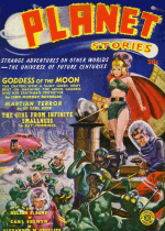 Cover For Planet Stories