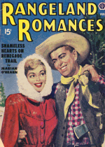 Cover For Rangeland Romances/Love Stories