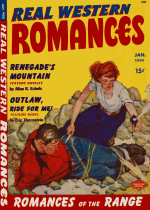 Cover For Real Western Romances