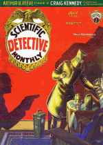 Cover For Scientific Detective Monthly