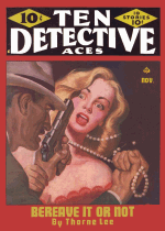 Cover For Ten Detective Aces