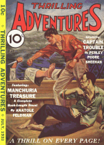 Cover For Thrilling Adventures