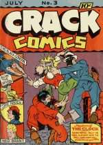 Cover For Crack Comics