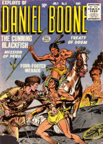 Cover For Exploits of Daniel Boone