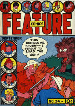 Cover For Feature Comics