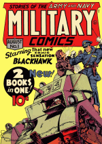 Thumbnail for Military Comics