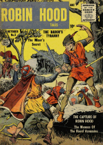 Cover For Robin Hood Tales
