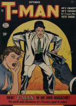 Cover For T-Man