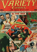 Cover For Variety Comics