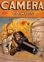 Cover For U. S. Camera - Camera Comics