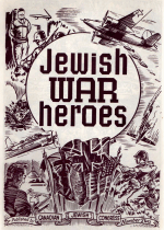 Cover For Canadian Jewish Congress - Jewish War Heroes