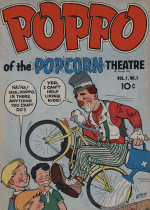 Cover For Fuller - Poppo of the Popcorn Theatre